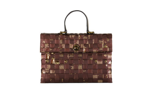 Meraky AROMA collection Shakerato convertible bag chocolate fronte