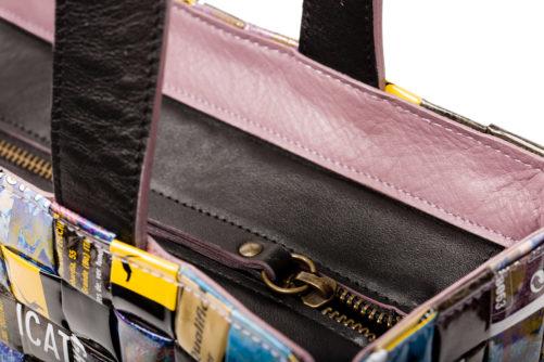 Meraky AROMA collection Shakerato sac convertible bag bouquet détail