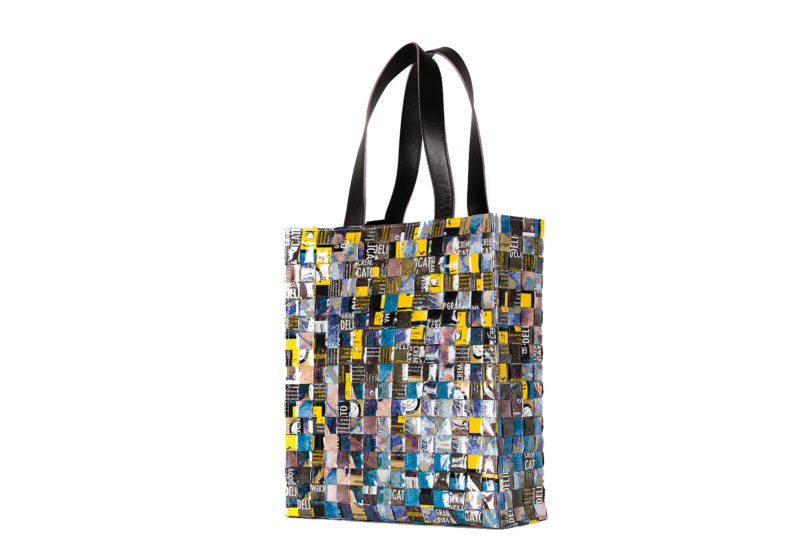 Meraky AROMA collection Arabica Tote bag bouquet back