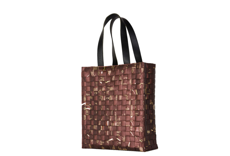 Meraky AROMA collection Arabica Tote bag chocolate back