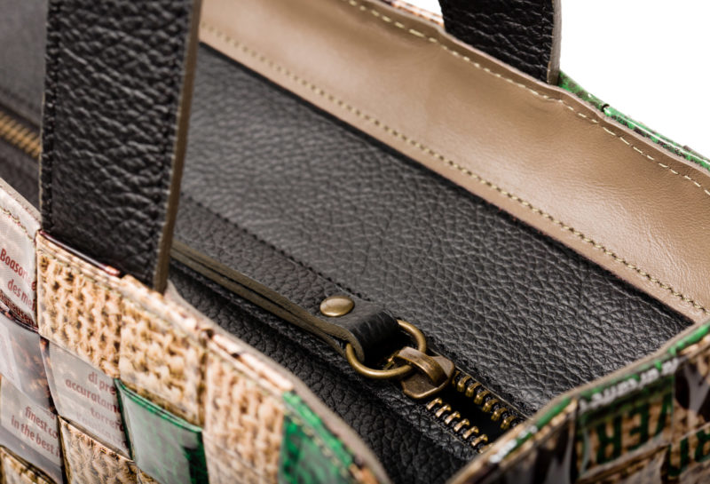 Meraky AROMA collection Arabica Tote bag juta detail