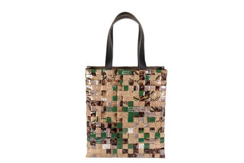 Meraky AROMA collection Arabica sac Tote bag juta devant