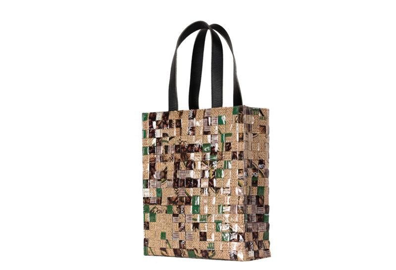 Meraky AROMA collection Arabica Tote bag juta back