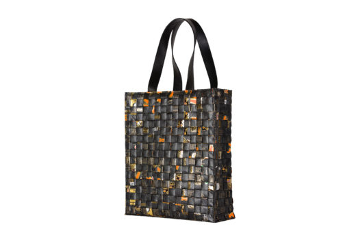 Meraky AROMA collection Arabica sac Tote bag oro nero arrière