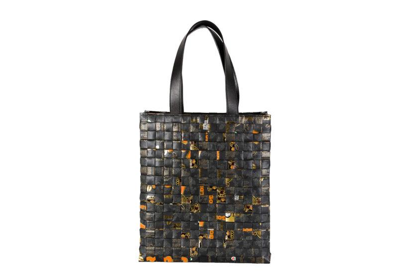 Meraky AROMA collection Arabica sac Tote bag oro nero devant