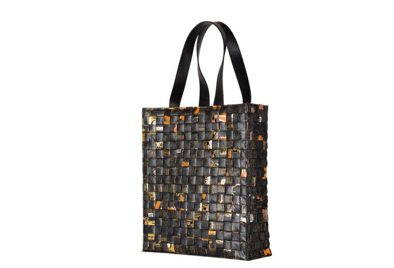 Meraky AROMA collection Arabica Tote bag oro nero side