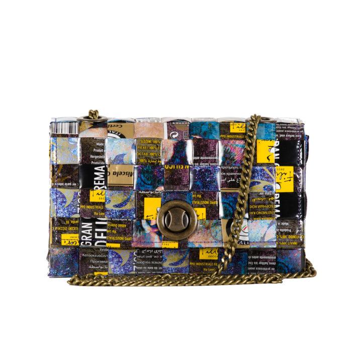 Meraky AROMA collection Espresso chatelaine bag bouquet