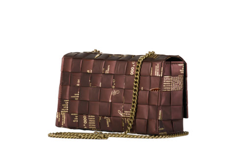 Meraky AROMA collection Espresso sac Chatelaine bag colour chocolate arrière