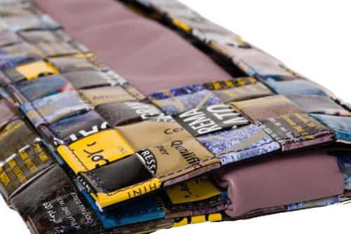 Meraky AROMA collection Ristretto sac pochette clutch bag colour bouquet détail