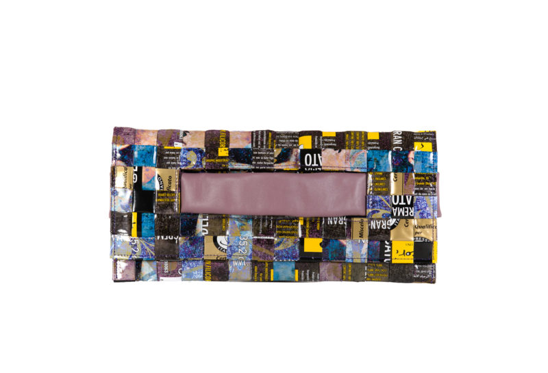 Meraky AROMA collection Ristretto clutch bag bouquet front