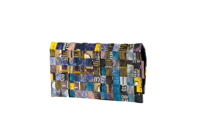 Meraky AROMA collection Ristretto clutch bag bouquet back