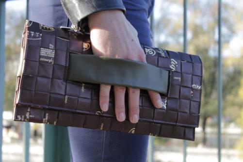 Meraky AROMA collection Ristretto sac pochette clutch bag chocolate