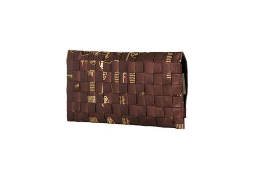 Meraky AROMA collection Ristretto sac pochette clutch bag chocolate arrière