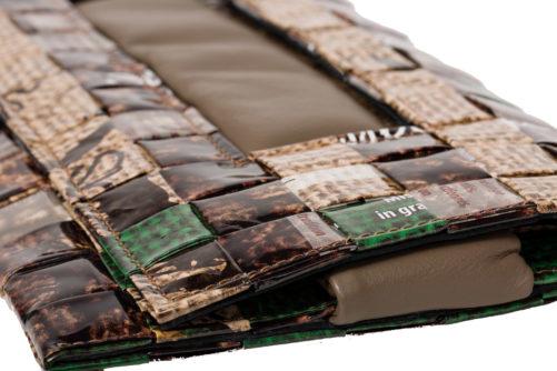 Meraky AROMA collection Ristretto sac pochette clutch bag juta détail