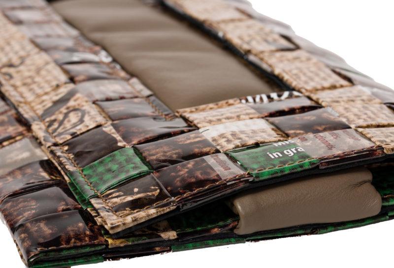 Meraky AROMA collection Ristretto clutch bag juta detail
