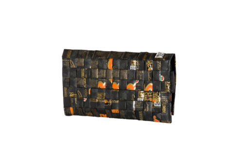Meraky AROMA collection Ristretto pochette clutch bag oro nero arrière