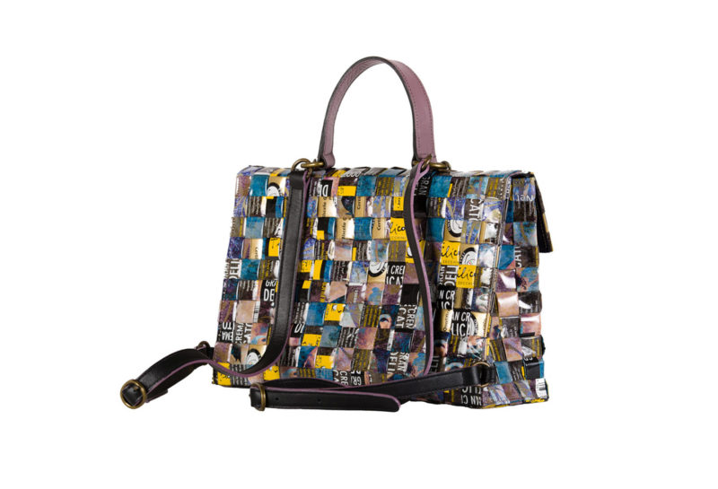 Meraky AROMA collection Shakerato convertible bag bouquet arriere