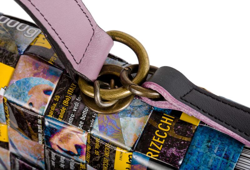 Meraky AROMA collection Shakerato convertible bag bouquet détail