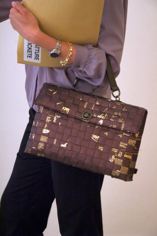 Meraky AROMA collection Shakerato convertible bag chocolate