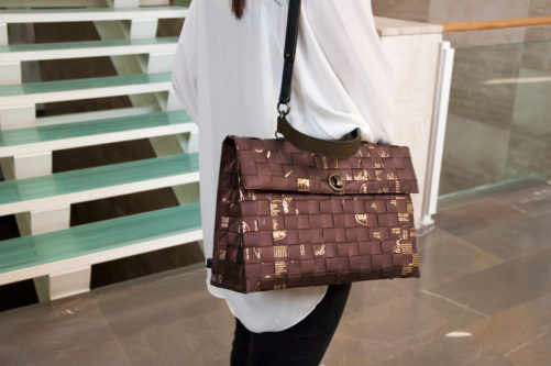Meraky AROMA collection Shakerato sac convertible bag chocolate