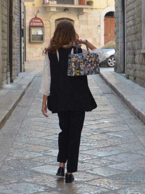 Meraky AROMA collection Shakerato sac convertible bag bouquet