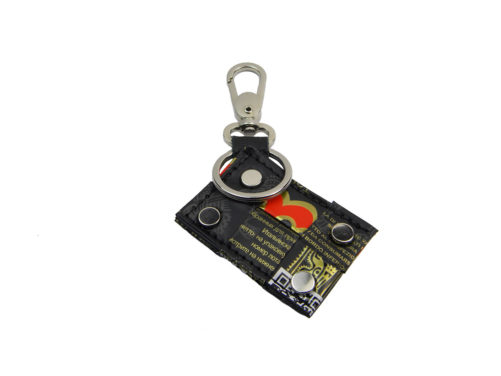 Espressino key ring portachiavi caramellato